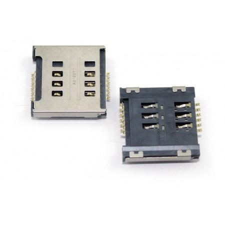 Conector Cartão SIM LG E455