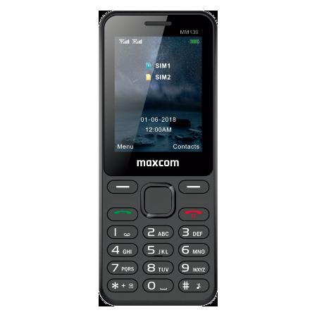 MaxCom Classic MM139 DS Preto