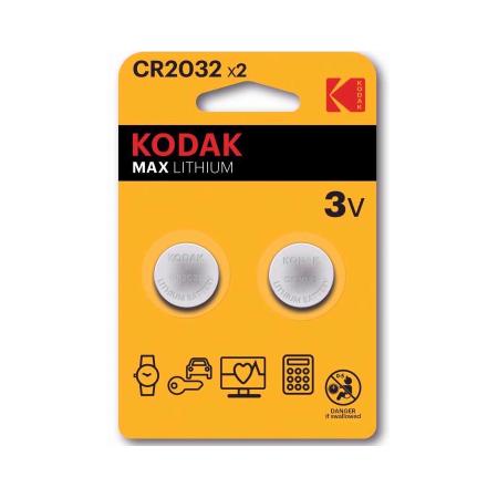 Pilhas Kodak Ultra CR2032