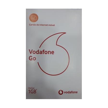 Cartão Vodafone Go 1GB