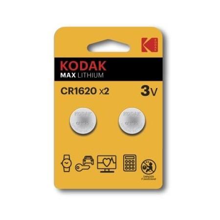 Pilhas Kodak Ultra CR1620