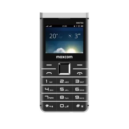 MaxCom Confort MM760 DS Preto