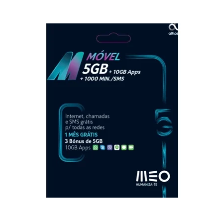 Cartão MEO M Móvel (5 GB +...