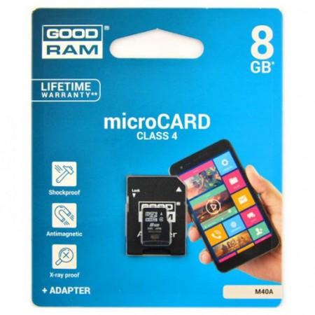 Cartão Memória GOODRAM 8GB...