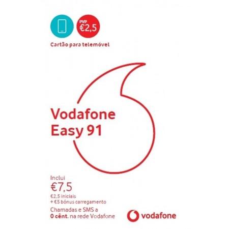 Cartao Vodafone 2.5